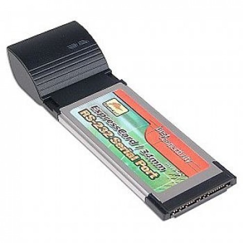 Placa Pcmcia Express RS232 Expresscard 34 mm